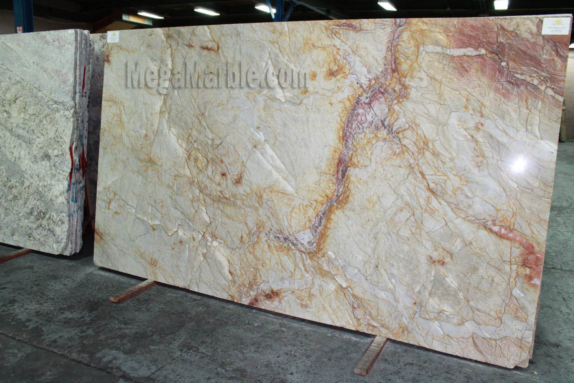 Marble Slabs For Countertops : Quartzite countertop slabs mega marble