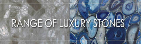 Range of luxury countertop stones