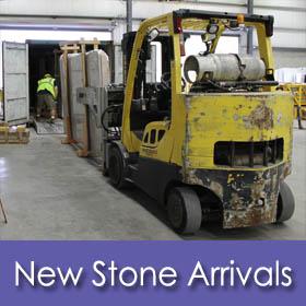 New Marble & Granite Countertop Arrivals