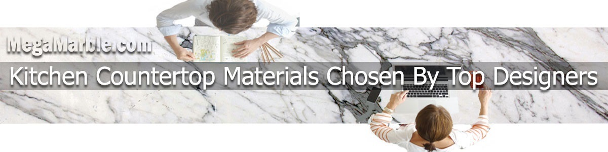 Kitchen Countertop Materials Chosen By Top Designers