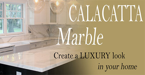 Types of calacatta marble slab