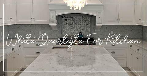 White Quartzite For Kitchen Countertops
